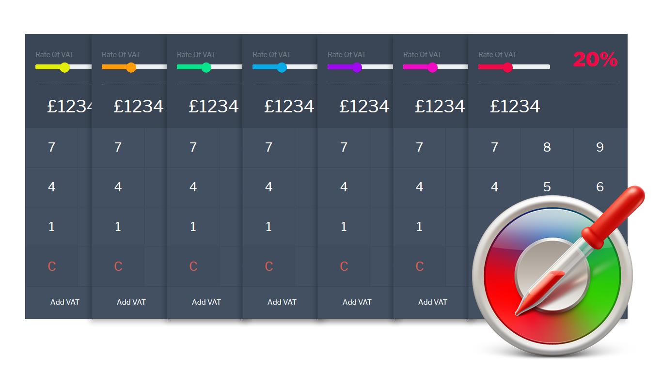 customisable VAT & TAX Calculator