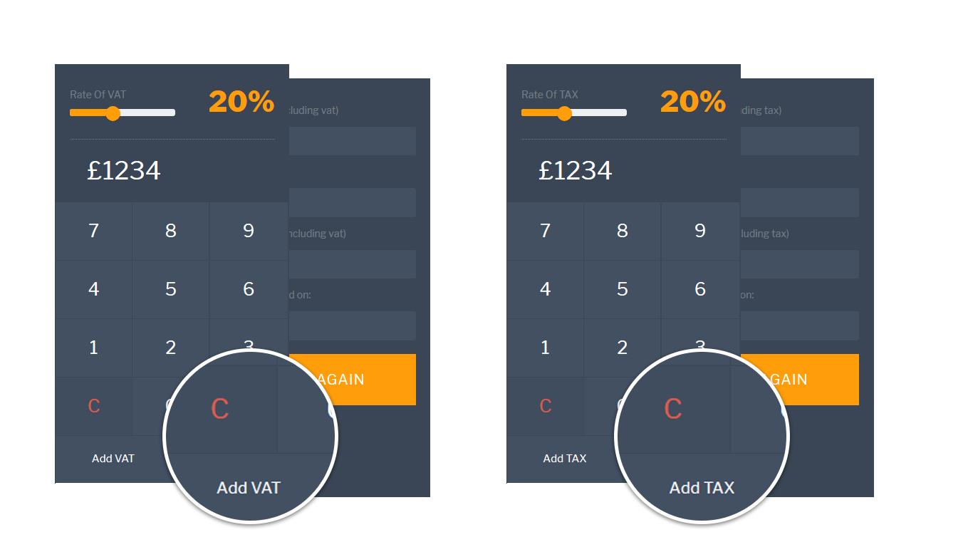 adaptive VAT & TAX Calculator
